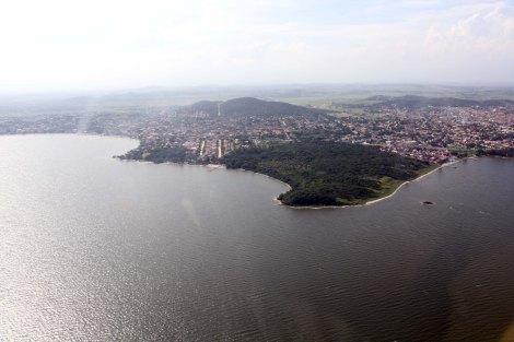 Vista geral da Lagoa de AraruamaFoto: Luiz Morier