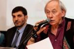 O advogado Ricardo Nemer, da Associação Abracannabis e o presidente da Comissão do Cumpra-se!, deputado Carlos Minc